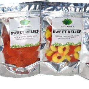 Relief Organics Sweet Relief Gummies
