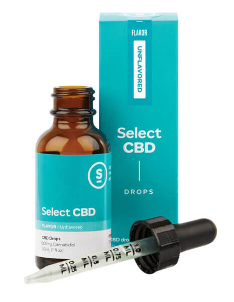 select cbd drops unflavored