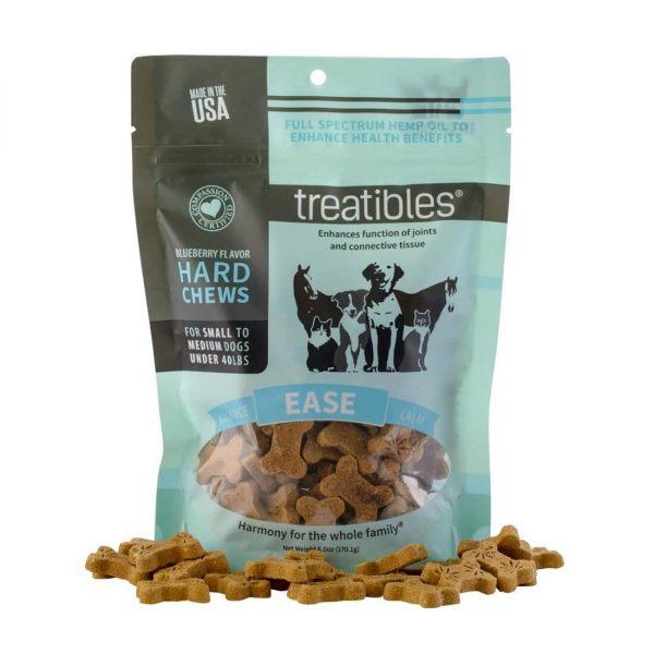 Treatibles Hard Chews Small Dog blueberry