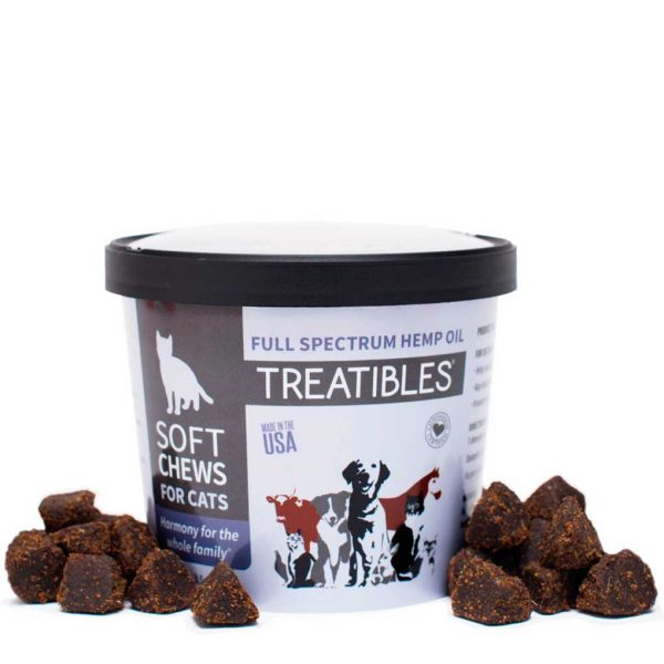 Treatibles Soft Chews for Cats Front